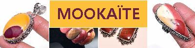 BIJOUX en JASPE MOKAÏTE OCRE-BRUN achat et  vente - bagues, colliers, bracelets, parures, boucles oreilles, pendentif