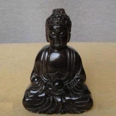 Bdh 002a bouddha sculpture jade onyx achat vente objets bouddhisme esoterique