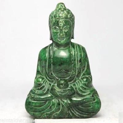 Bdh 003a bouddha sculpture malachite 60x40mm achat vente objet esoterique religieux ethnique