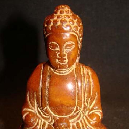 Bdh 004c bouddha sculpture jaspe miel 60x40mm achat vente objet esoterique religieux ethnique