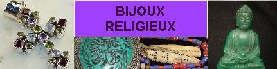 Bijoux et Objets RELIGIEUX - en argent 925 avec pierre AMAZONITE - achat et  vente - bagues, colliers, bracelets, parures, boucl