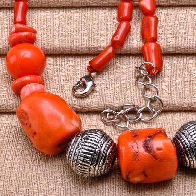 Cr 0370b collier parure corail achat vente bijou argent 925