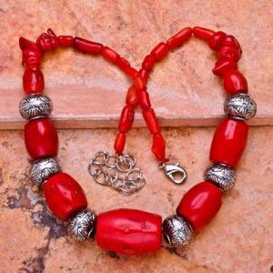 Cr 0396d collier parure sautoir corail orange achat vente bijoux ethniques