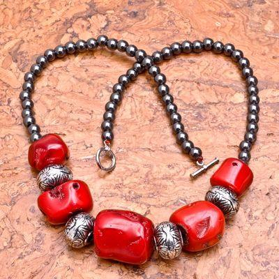 Cr 0422d collier 90gr parure sautoir corail rouge achat vente bijoux ethniques