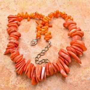 Cr 0426c collier corail rose ethnique berbere kabyle oriental achat vente bijoux