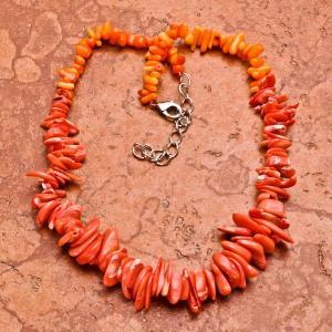 Cr 0426d collier corail rose ethnique berbere kabyle oriental achat vente bijoux
