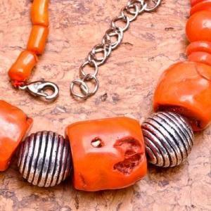 Cr 0431c collier corail rose ethnique 98gr berbere kabyle oriental achat vente bijoux