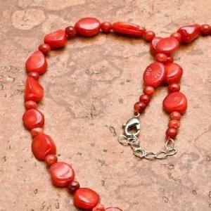 Cr 0442b collier 28gr sautoir parure corail rouge achat vente bijoux ethniques