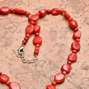 Cr 0442d collier 28gr sautoir parure corail rouge achat vente bijoux ethniques