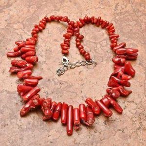 Cr 0443d collier 84gr sautoir parure corail rouge achat vente bijoux ethniques
