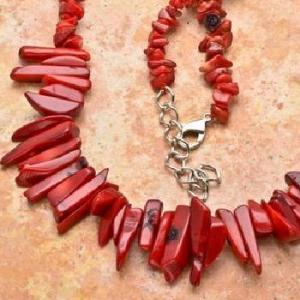 Cr 2615c collier 76gr sautoir parure corail rouge achat vente bijoux ethniques