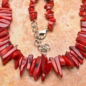 Cr 2615d collier 76gr sautoir parure corail rouge achat vente bijoux ethniques