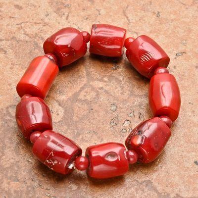 Cr 8547a bracelet corail rouge achat vente bijoux ethniques