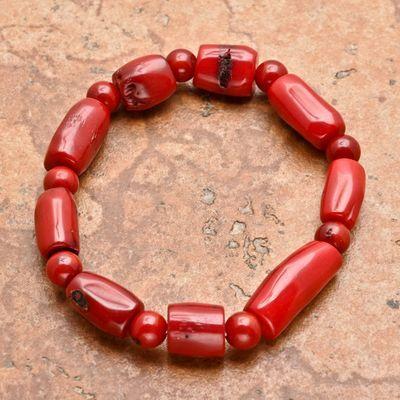 Cr 8692a bracelet corail rouge achat vente bijoux ethniques