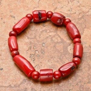 Cr 8692b bracelet corail rouge achat vente bijoux ethniques