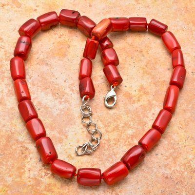 Cr 8729a collier parure sautoir corail rouge 80gr achat vente bijoux ethniques