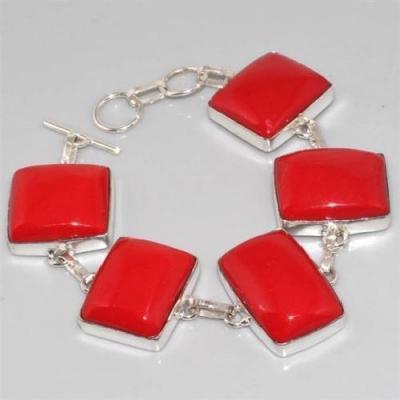 Crf 004a bracelet corail fantaisie argent 925 achat vente