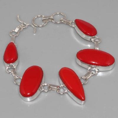 Crf 007a bracelet corail fantaisie argent 925 achat vente
