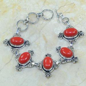 Crf 010a bracelet corail fantaisie argent 925 achat vente