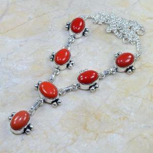 Crf 015d collier parure sautoir corail fantaisie argent 925 achat vente bijou