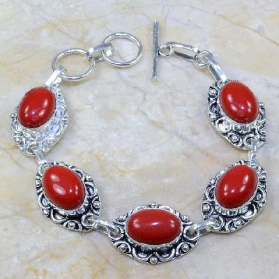 Crf 016a bracelet corail fantaisie argent 925 achat vente