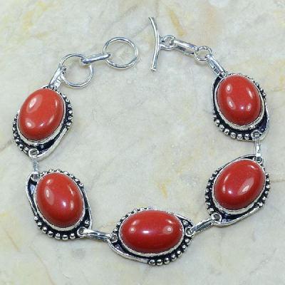 Crf 017a bracelet corail fantaisie argent 925 achat vente