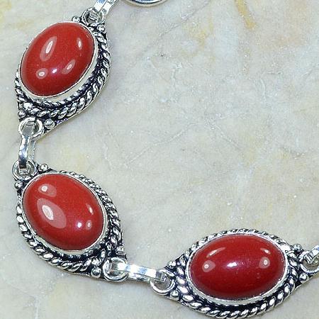 Crf 024b bracelet corail fantaisie argent 925 achat vente bijou