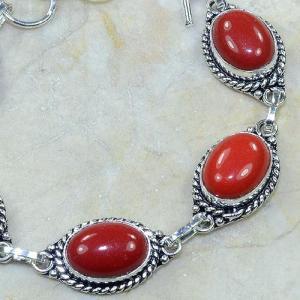 Crf 024c bracelet corail fantaisie argent 925 achat vente bijou