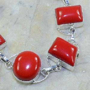 Crf 028c bracelet corail fantaisie argent 925 achat vente bijou