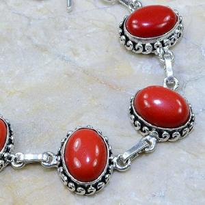 Crf 030c bracelet corail fantaisie argent 925 achat vente bijou