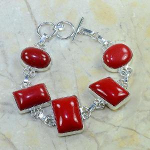 Crf 033d bracelet corail fantaisie argent 925 achat vente bijou