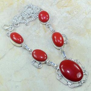 Crf 036a collier parure sautoir corail fantaisie argent 925 achat vente bijou