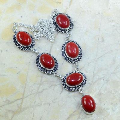 Crf 040a collier parure sautoir corail fantaisie argent 925 achat vente bijou