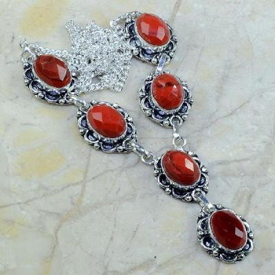 Crf 046a collier parure sautoir corail fantaisie argent 925 achat vente bijou
