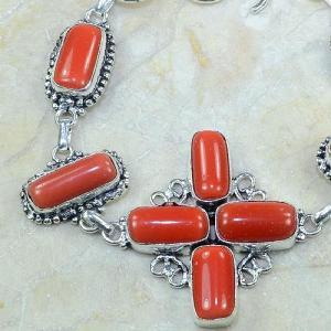 Crf 050b bracelet corail fantaisie croix argent 925 achat vente bijou