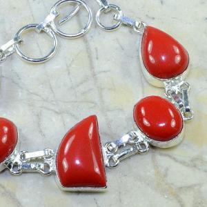 Crf 055b bracelet corail fantaisie argent 925 achat vente bijou