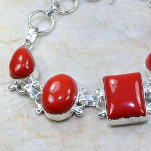 Crf 061b bracelet corail fantaisie argent 925 achat vente bijou