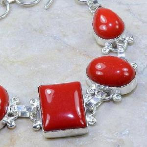 Crf 061c bracelet corail fantaisie argent 925 achat vente bijou