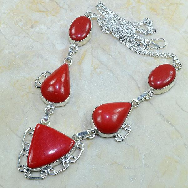 Crf 064d collier parure sautoir corail fantaisie argent 925 achat vente bijou