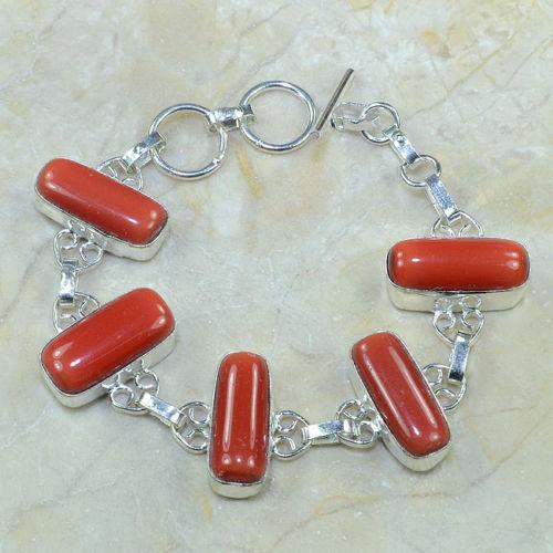 Crf 068a bracelet corail fantaisie argent 925 achat vente