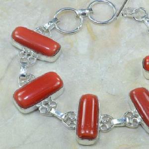Crf 068b bracelet corail fantaisie argent 925 achat vente