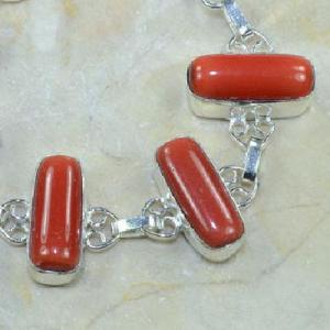 Crf 068c bracelet corail fantaisie argent 925 achat vente