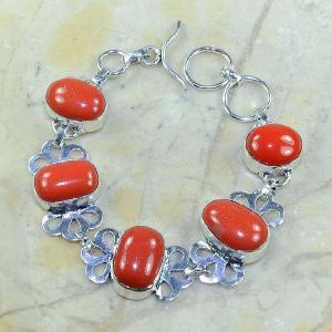 Crf 072a bracelet corail fantaisie argent 925 achat vente