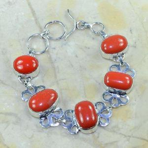 Crf 072d bracelet corail fantaisie argent 925 achat vente