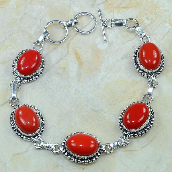 Crf 080a bracelet corail fantaisie argent 925 achat vente