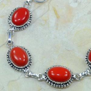 Crf 080b bracelet corail fantaisie argent 925 achat vente