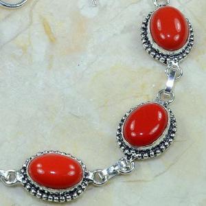 Crf 080c bracelet corail fantaisie argent 925 achat vente