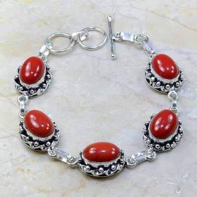 Crf 081a bracelet corail fantaisie argent 925 achat vente