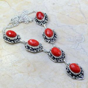 Crf 082a collier parure sautoir corail fantaisie argent 925 achat vente bijou