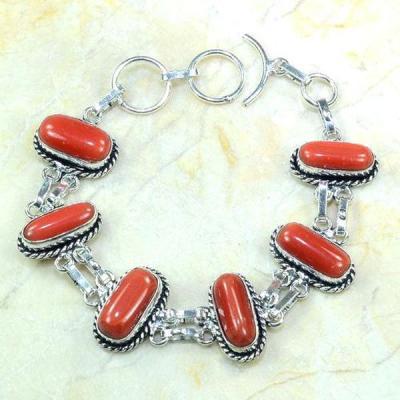 Crf 121a bracelet corail achat vente bijou monture argent 925